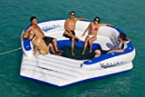 Aquaglide Malibu Lounger - Inflatable Water Float for 10 People