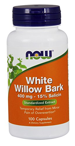 Now Foods | Weidenrindenextrakt | 400 mg | 100 glutenfreie Kapseln | ohne Gentechnik