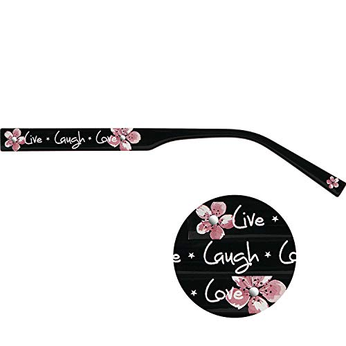 Visan ChangeMe Brillenbügel 8656-1 rose auf schwarz