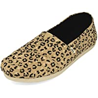 TOMS Alpargata CloudBound Natural Textured Women's Cheetah Shoes