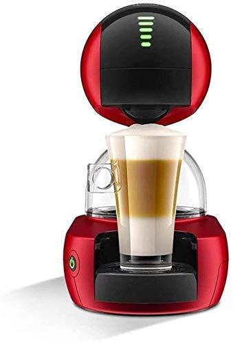 Máquina Zjcpow Cafetera, Máquina de Café Cápsula Automática, Espumador de Leche Italiana Comercial, para Hotel Oficina en el Hogar 15Bar xuwuhz