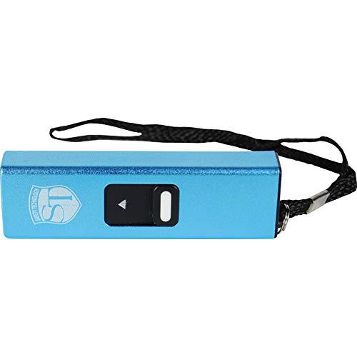 Slider 3 Million Volt Mini Stun Gun Flashlight Blue