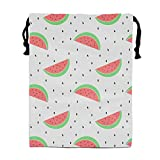 Jiger Rainbow Pineapple Drawstring Backpack Polyester Shoes Bag