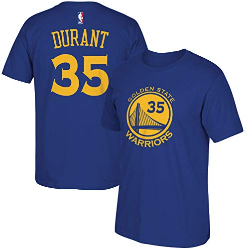 NBA Youth 8-20 Performance Game Time Team Color Player Name and Number Jersey T-Shirt (Medium 10/12, Kevin Durant)