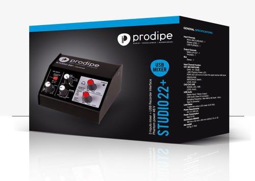 Prodipe - Modulo audio (Studio 22 +)