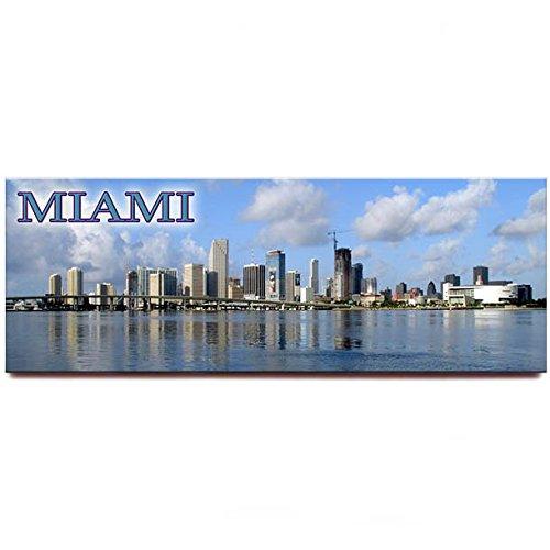 Miami skyline Panorama Kühlschrank Magnet Florida Travel Souvenir