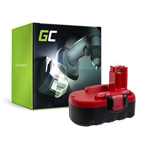 GC® (1.5Ah 18V Ni-MH celdas) BAT025 BAT026 BAT160 BAT180 BAT181 2607335535 2607335536 2607335277 Batería para Bosch PSB 18 VE-2 GSB 18 VE-2 GSR 18 VE-2 PSR 18 VE-2 de Herramienta Eléctrica