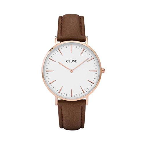 Cluse La Bohème Rose Gold White Armbanduhr CL18010