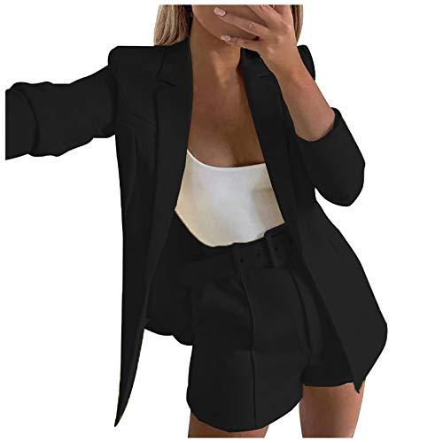 Higlles Damen Blazer warme Damen Winter Mantel Winterjacke Jacke Herstellergröße für Frauen S-5XL Temperament Slim Kleiner Anzug Langarm Jacke Outwear Cardigan