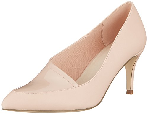 Bianco Damen Asymmetric Pump Pumps, Pink (Powder 490), 38 EU