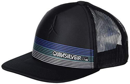 Quiksilver Herren GASHER HAT Baseball Cap, schwarz, Einheitsgröße
