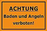 Melis - Pegatina para cartel de prohibido la pesca