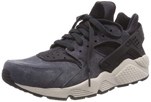 Nike Air Huarache Run PRM, Zapatillas de Gimnasia para Hombre, Negro (Anthracite/Black/Lt Bone/Black 016), 40.5 EU