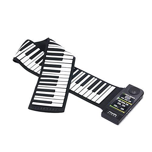 NUYI Clavier Portatif De Clavier De Piano à Molette De 88 Mains Se Pliant Piano Débutant