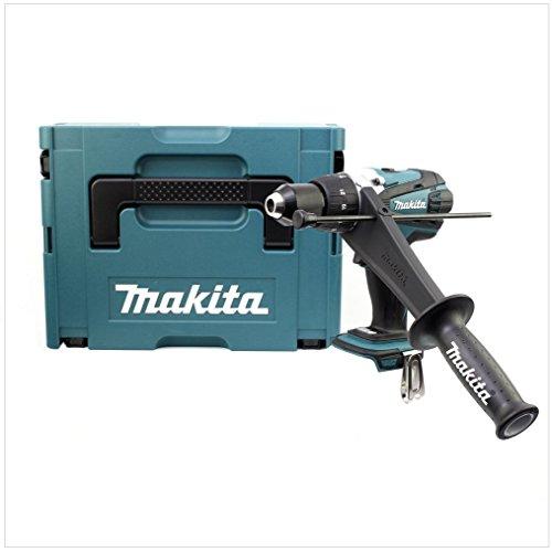 Makita Akku-Schlagbohrschrauber 18 V, im Makpac ohne Akku und Ladegerät, DHP458ZJ