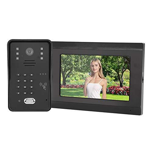 Videoportero inteligente Vigilancia electrónica del hogar Aplicación amplia de alta definición Fácil de instalar(European regulations)