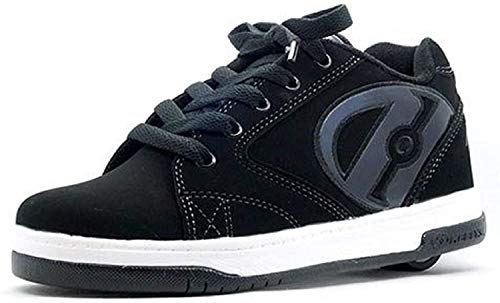 Heelys Jungen Propel 2.0 Sneakers, Turnschuhe Schwarz (38 EU, 5 UK)
