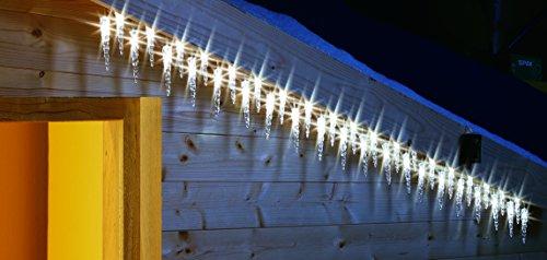deeel basics 110094 Solar-LED Eiszapfen outdoor, 20-er Set