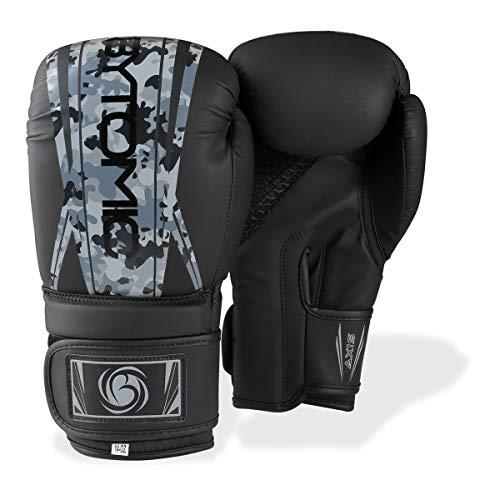Bytomic Axis V2 - Guantes de Boxeo, Color Negro y Camuflaje, Color Negro, tamaño 45,5 Cl