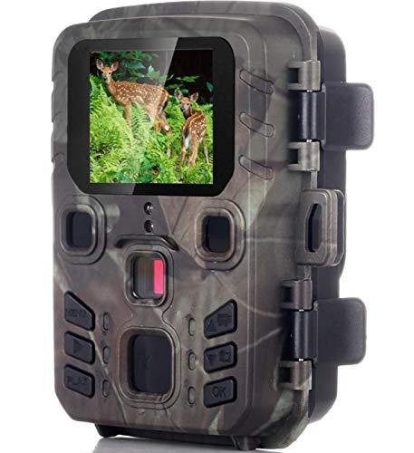 KTYX Camara Caza Inalámbrica - 20mp 1080p Cámara de Caza al Aire Libre para Juegos de Vida Silvestre - Vigilancia de Exploración con Visión Nocturna Mcamara Fototrampeo Impermeables Activadas
