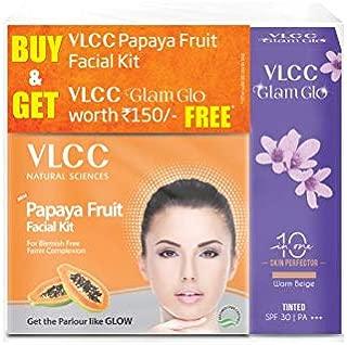 VLCC Papaya Facial Kit with v Glam Glo Warm, 30 ml