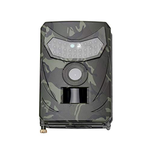 Cámara de caza HD impermeable de visión nocturna para la naturaleza al aire libre Garden Home Security Surveillance Wildlife Watching