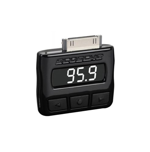 Scosche FMRDSA tuneFREQ FM Transmitter for iPhone and iPod Touch (Black)