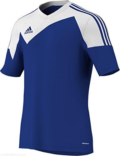 adidas Toque 13Herren Fußball Jersey, blau/weiß