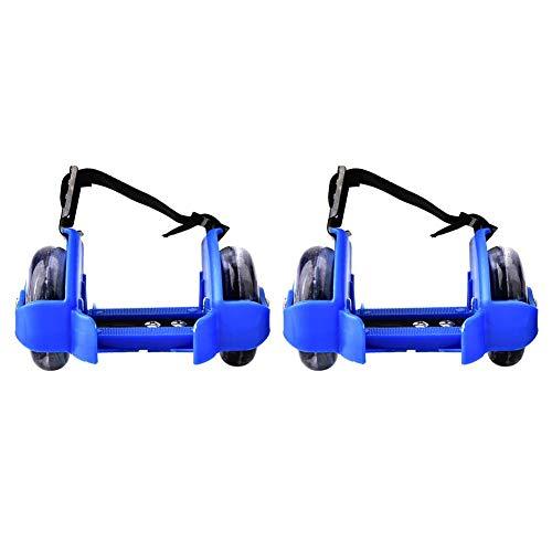 VGEBY Schuhe Heel Roller, Flash Skating Schuhe Verstellbarer Riemen Rollschuhe Speziell für Kinder