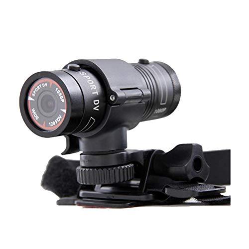 Riosupply - Casco de cámara para bicicleta, Full HD, 1080P, mini deportes, DV, motocicleta, casco de acción, DVR, ideal para deportes al aire libre