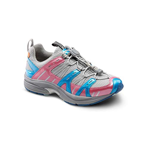 Dr. Comfort Women's Refresh Berry Diabetic Athletic Shoes pink Size: 7.5 X-Wide
