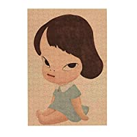 ジグソーパズル 300 ピース 奈良美智 手作りのアートワーク サイズ38.3×26cm