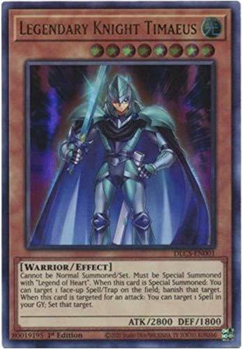 Legendary Knight Timaeus - DLCS-EN001 - Ultra Rare - 1st Edition