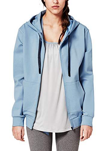 s.Oliver ACTIVE Damen 2H.802.43.5377 Sportsweatshirt, Blau (Blue 5335), 38 (Herstellergröße: M)