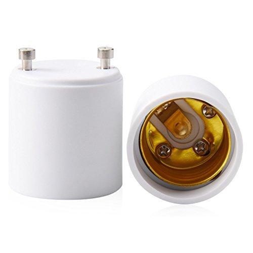 Lights & Lighting - Ltreon 2pcs 1000w 250v Gu24 To E27 E26 Heat Resistant Bulb Lamp Adapter Socket - Light Bulb Adapter Socket Converter Gu24 Prong Longstar Fe-Iisg-13w - 2 Led
