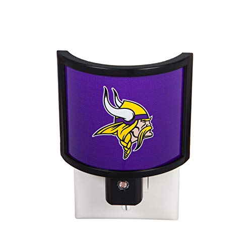 Team Sports America NFL Minnesota Vikings Glowing Auto Sensor Night Light - 4