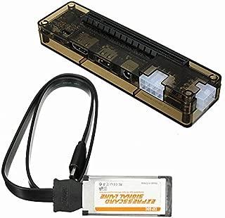 Semoic Express Card Mini PCI-E Version Expresscard V8.0 EXP GDC Beast PCIe PCI-E PCI Laptop External Independent Video Card Dock