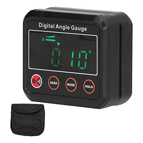 Inclinómetro digital, el brillo es más alto y el indicador de ángulo más claro mide el sonido de 89 ° a 90 ° para el nivel de carpintería digital(DL1912)