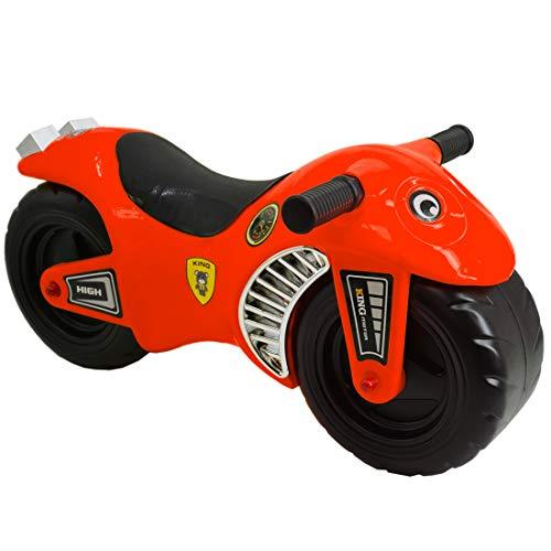 deAO Moto Cavalcabile - Giochi Senza Pedali - Migliora L'equilibrio -ROSSO