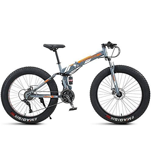 Bicicleta Plegable para Adultos, 24 26 pulgadas, Bicicleta de montaña prémium para niños, niñas, hombres y mujeres, Bicicleta de montaña portátil ultraligera/C / 24inch
