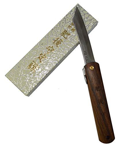 Higonokami Japanisches handgefertigtes Klappmesser Taschenmesser Griff Eisenholz VG-10 Klinge Handgefertigt in Japan von Nagao Kanekoma