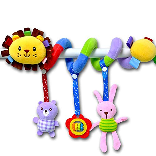 Read About Interactive Toys for Babies Baby Rattles Early Educational Toys Children Teether Bed Bell...