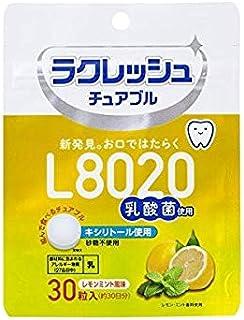 ジェクス L8020乳酸菌 ラクレッシュ チュアブル レモンミント風味 30粒入×10個セット