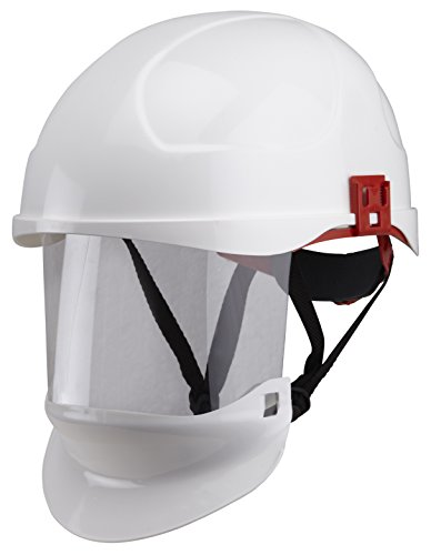 Secra 2660 ARC Class-1 - Casco con visiera integrale, colore bianco