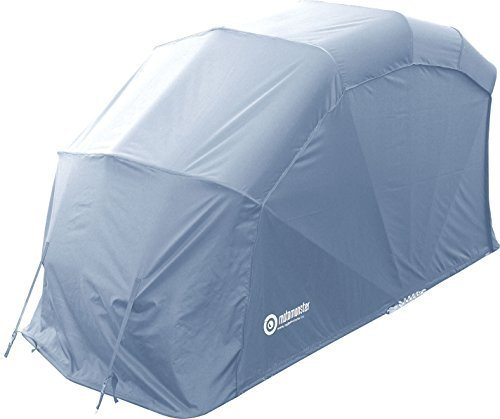 Carpa protectora plegable para motos (tamaño XXL), color gris