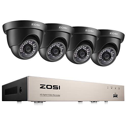 ZOSI 1080P CCTV Camera Systems 8 Channel H.265+ Surveillance...