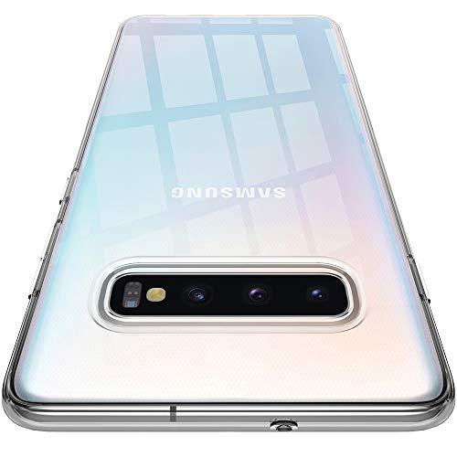 Spigen Liquid Crystal Kompatibel mit Samsung Galaxy S10 Hülle Transparent