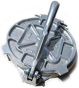 Estrella 7.5 inch Cast Iron Tortilla Press and Pataconera, Original Made in MEXICO