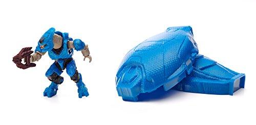 Mega Bloks Halo Drop Pod Metallic Blue Elite Toy Figure