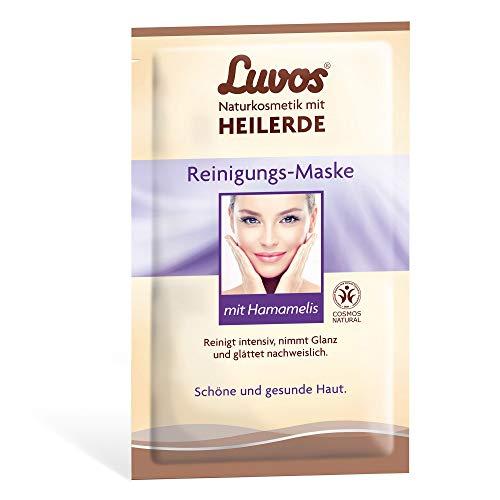 LUVOS Crememaske Reinigung mit Sofort-Effekt tiefenwirksame Reinigung 2 x 7,5 ml